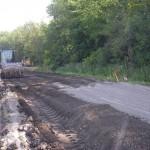 5. Compaction du sol avec ciment