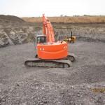 8. Excavation de l'emplacement d'une fondation