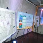 Panneaux d'information extraits de l'étude d'impact